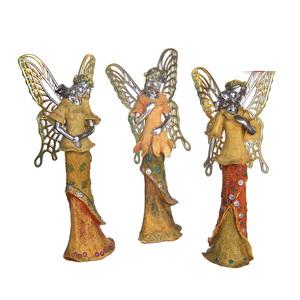 Gecas Regali dal mondo - Fatine Polystone Angeli Misura H.23 cm