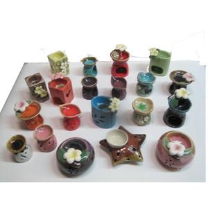 Gecas Regali dal mondo - Lotto 14 Composto da 100 brucia aromi in Ceramica
