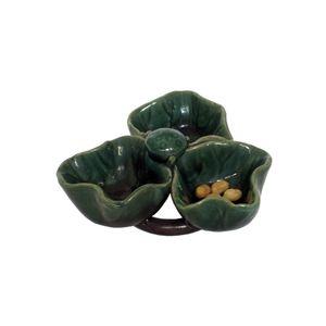 Gecas Regali dal mondo - Ciotola Porcellana Verde Misura D.15 cm