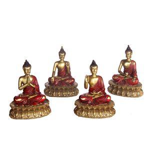 Gecas Regali dal mondo - Lotto 7 Composto da i 200 Budda Thai 10x9 cm.