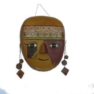 Gecas Regali dal mondo - Maschere PRECOLOMBIANE in Terracotta 25 X 25 CM.