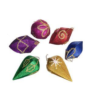Gecas Regali dal mondo - Ornamenti Natalizi Set Di 6 Misura 10 cm