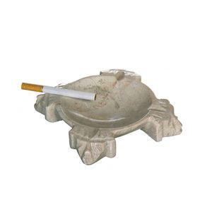 Gecas Regali dal mondo - Portacenere Onice Azteca Misura 12 x 12 D17 cm
