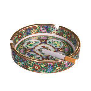 Gecas Regali dal mondo - Portacenere Porcellana Misura D.12 cm
