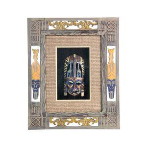 Gecas Regali dal mondo - Quadro Africa Maschera Misura 32 x 26 cm