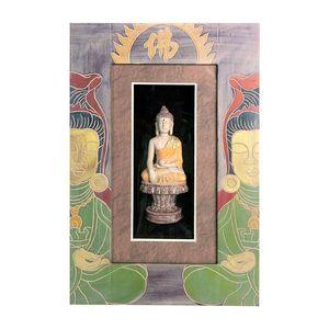 Gecas Regali dal mondo - Quadro Budda Cornice Misura 48 x 32 cm