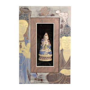 Gecas Regali dal mondo - Quadro Kuan Yin Misura 48 x 32 cm