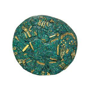 Gecas Regali dal mondo - Quadro Malachite Misura D.19 cm