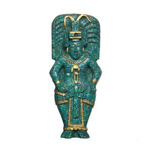 Gecas Regali dal mondo - Quadro Sacerdote Maya Misura 9 x 20 cm