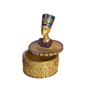 Gecas Regali dal mondo - Scatola Egizia Nefertiti Misura 13 x 8 cm