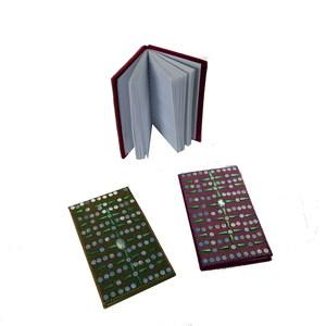 Gecas Regali dal mondo - Set di 2 Block Notes LACCATI 13X7 CM.
