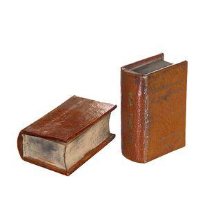 Gecas Regali dal mondo - Scatola Rivestita in Pelle Misura 10 x 7 x 4 cm