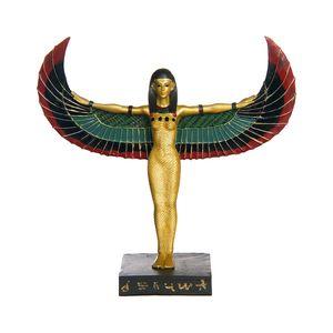 Gecas Regali dal mondo - Statua Egizia Dea Maat Misura 18 x 23 cm