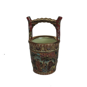 Gecas Regali dal mondo - Vaso Porcellana Secchiello 12X23 CM.