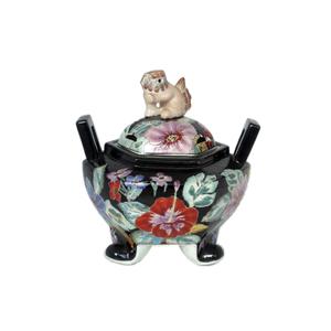 Gecas Regali dal mondo - Vaso Potish Porcellana. Misura 26X26 cm.