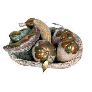 Gecas Regali dal mondo - Vassoio con Frutta Set 7. Misura 35 cm
