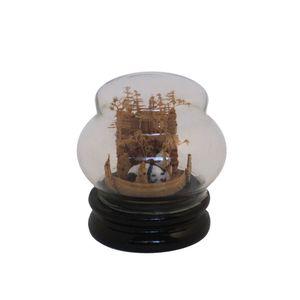 Gecas Regali dal mondo - Vetrina in Legno e Sughero Misura 8 x 8 cm