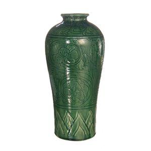 Gecas Regali dal mondo - Vaso Porcellana Fiori Misura H.36 cm
