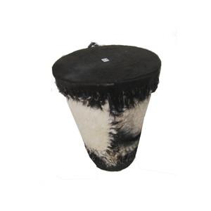 Gecas Regali dal mondo 1KN0496-A Tamburo Pelle A Cono Misura 30 x 22 cm