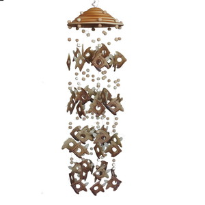 Gecas Regali dal mondo 1TL0421 SCACCIAGUAI Ceramica Pesci Misura 60 cm.