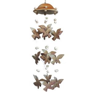 Gecas Regali dal mondo 1TL0426 SCACCIAGUAI Ceramica Uccelli Misura 40 cm.