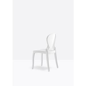 N.4 sedie in policarbonato Queen