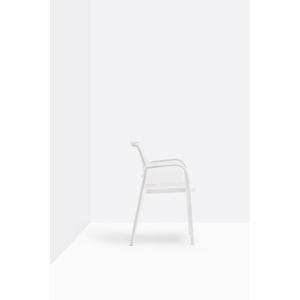 N.4 sedie in polipropilene Ara con braccioli