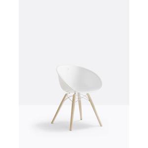 N.2 sedie in tecnopolimero Gliss