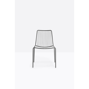 N.2 sedie in acciaio verniciato Nolita