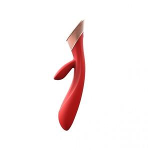 Rabbit Blossom Rosso Tecnologia Sensitive Touch Ricaricabile