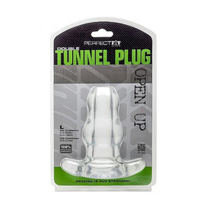 Perfect Fit Double Tunnel Anal Plug Large