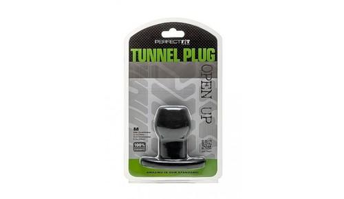 Perfect Fit Tunnel Plug  Black Medium