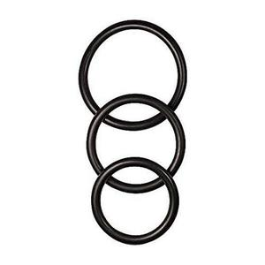 MANBOUND RUBBER COCK RING - PACK OF 3