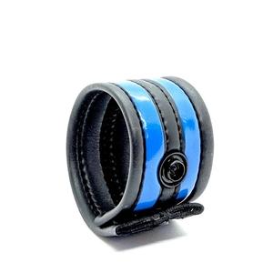 Neoprene Racer Ball Strap - Blue