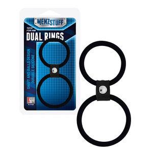 Menzstuff Dual Rings Black