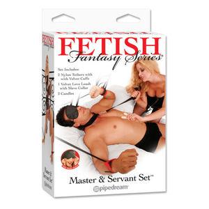 Fetish Fantasy Series Master & Servant Set