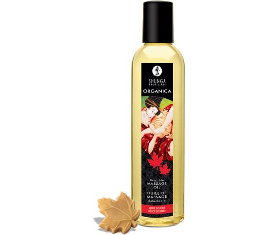 Shunga massage oil organica maple delight 250ml