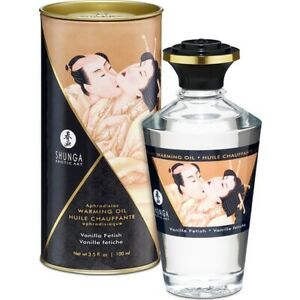 Aphrodisiac Oil - Vanilla 100ml