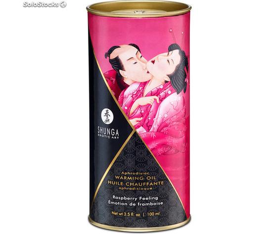 Shunga aceite sensacion efecto calor frambuesa 100 ml shunga 697309022019 28975188z1 22280767