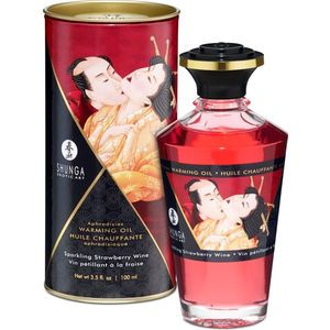 Aphrodisiac oil - Wine Strawberry 100ml