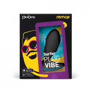 PicoBong - Remoji: SURFER Plug Vibe - Black