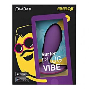 PicoBong - Remoji: SURFER Plug Vibe - Purple