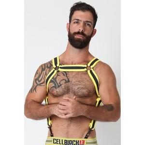 CellBlock 13 Rogue Harness - Yellow