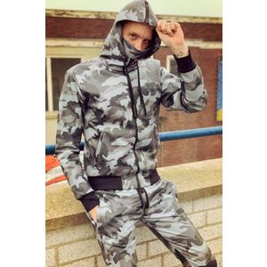 Mr Riegillio MR Camo Full Zip-S