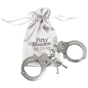 Fifty Shades of Grey - Metal Handcuffs You Are Mine