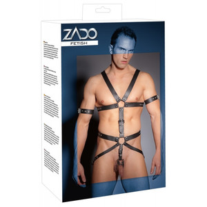 Men's Leather Harness 3R
