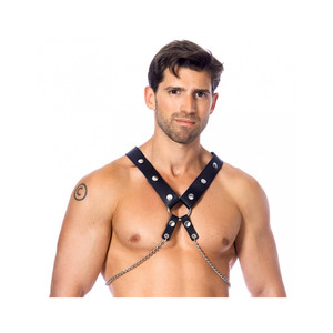 RIMBA - BODY HARNESS WITH METAL CHAINS