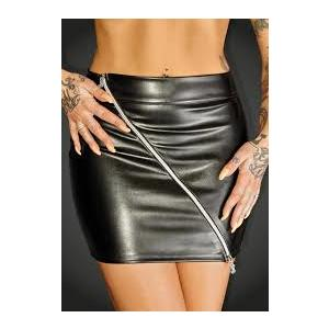 Noir F126 Mini Skirt - L