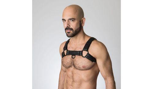 Neoprene Bulldog Harness M