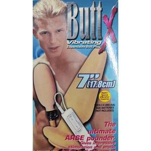 Butt X Vibrating  Expandable Butt Plug
